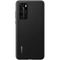 Husa de protectie Huawei PU pentru P40, Black image