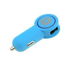 Incarcator auto dual USB A+ Charger, Bleumarin