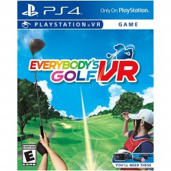 Joc Everybody`s Golf VR pentru PlayStation 4