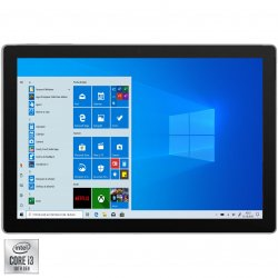 "Laptop 2 in 1 Microsoft Surface Pro 7 cu procesor Intel Core i3-1005G1 pana la 3.40 GHz, 12.3"", Pixel Sense, Touch, 4GB, 128GB SSD, Intel UHD Graphics, Windows 10 Home, Platinum"