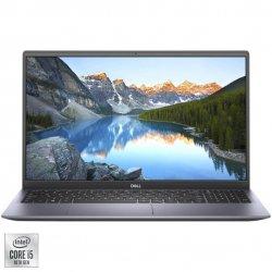 "Laptop Dell Inspiron 5501 cu procesor Intel Core i5-1035G1 pana la 3.60 GHz, 15.6"", Full HD, 8GB, 512GB SSD, Intel UHD Graphics, Ubuntu, Silver"