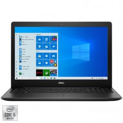 "Laptop Dell Vostro 3590 cu procesor Intel Core i5-10210U pana la 4.20 GHz, 15.6"", Full HD, 8GB, 256GB SSD, Intel UHD Graphics, Windows 10 Pro, Black"