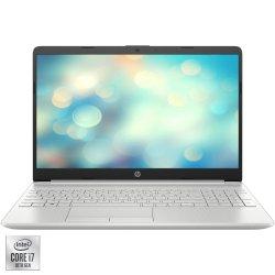 "Laptop HP 15-dw2016nq cu procesor Intel Core i7-1065G7 pana la 3.90 GHz Ice Lake, 15.6"", Full HD, IPS, 8GB, 512GB SSD, Nvidia MX330 2GB, FreeDOS, Natural Silver"