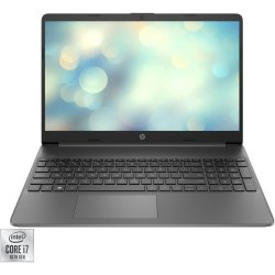 "Laptop HP 15s-fq1095nq cu procesor Intel® Core™ i7-1065G7 pana la 3.90 GHz, 15.6"", Full HD, 8GB, 512GB SSD, Intel® Iris® Plus Graphics, Free DOS, Grey"