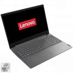 "Laptop Lenovo Lenovo V15 IIL cu procesor Intel Core i7-1065G7 pana la 3.90 GHz, 15.6"", Full HD, 12GB, 512GB SSD, Intel Iris Plus Graphics, Free DOS, Iron Grey"