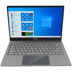 "Laptop ultraportabil Allview Allbook Q cu procesor Qualcomm® Snapdragon™ 835 pana la 2.45 GHz, 13.3"", Full HD, IPS, 4GB, 64GB UFS 2.1, 4G, Qualcomm® Adreno™ 540, Windows 10 Home"
