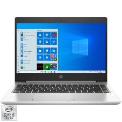 "Laptop ultraportabil HP ProBook 440 G7 cu procesor Intel Core i3-10110U pana a 4.10 GHz, 14"", Full HD, 8GB, 256GB SSD, Intel UHD Graphics, Windows 10 Pro, Silver"