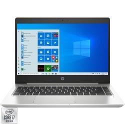 "Laptop ultraportabil HP ProBook 440 G7 cu procesor Intel® Core™ i7-10510U pana la 4.90 GHz, 14"", Full HD, IPS, 8GB, 256GB SSD, Intel UHD Graphics, Windows 10 Pro, Silver"