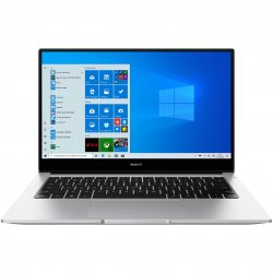 "Laptop ultraportabil Huawei MateBook D14 2020 cu procesor AMD Ryzen™ 5 3500U pana la 3.70 GHz, 14"", Full HD, IPS, 8GB, 256GB SSD, Radeon™ Vega 8, Windows 10 Home, Mystic Silver"