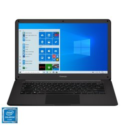 "Laptop ultraportabil Prestigio SmartBook 141 C2 cu procesor Intel Celeron N3350 pana la 2.40 GHz, 14.1"", Full HD, 4GB, 32GB eMMc, Intel® HD Graphics 500, Windows 10 Pro, Slate Grey"