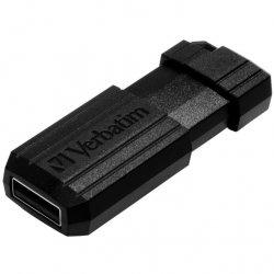 Memorie USB Verbatim Store `n` Go PinStripe 64GB, USB 2.0, Black