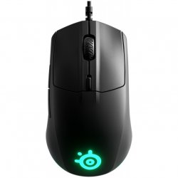 Mouse gaming SteelSeries Rival 3, Negru