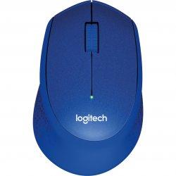 Mouse Logitech M330 Silent Plus, Wireless, Blue