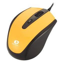 Mouse optic Serioux Pastel 3300, USB, Galben