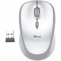 Mouse wireless Trust Yvi, Alb