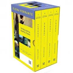 Pachet Tetralogia Napolitana (editie film), Elena Ferrante