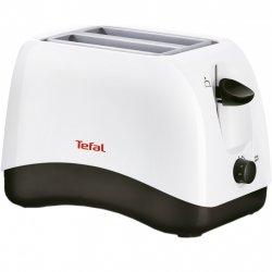 Prajitor de paine Tefal TT130130, 850 W, 2 felii, Alb image