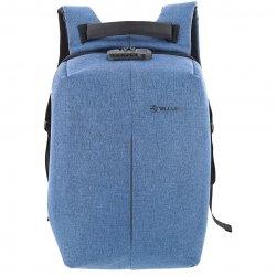 "Rucsac laptop Tellur Antifurt V2, cu port USB, 15.6"", albastru"