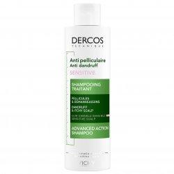 Sampon anti-matreata Vichy Dercos Anti-Dandruff Sensitive pentru scalp sensibil, 200 ml