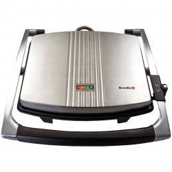 Sandwich-maker Breville Panini Large VST026X-01, 2000 W, Negru/Inox