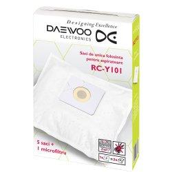 Set Daewoo 5 saci de aspirator + 1 microfiltru RC-Y101
