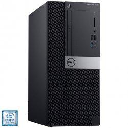Sistem Desktop PC Dell OptiPlex 7070 Tower cu procesor Intel® Core™ i9-9900 pana la 5.00 GHz, Coffee Lake, 32GB DDR4, 512GB SSD, Intel UHD Graphics 630, Linux