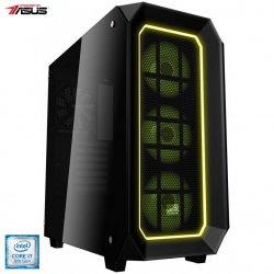 Sistem Desktop PC Gaming Serioux Powered by ASUS cu procesor Intel® Core™ i7-9700F pana la 4.70GHz, 16GB DDR4, 250GB SSD M.2 PCIe + 2TB HDD, GeForce® RTX 2070 Super™ 8GB GDDR6