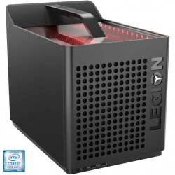 Sistem Gaming PC Lenovo Legion C530-19ICB cu procesor Intel® Core™ i7-9700 pana la 4.70 GHz, Coffee Lake, 16GB DDR4, 512GB SSD M.2 2280 PCIe + 1TB HDD 7200rpm, NVIDIA GeForce GTX 1660 Ti 6GB GDDR6, Free DOS, Iron Grey
