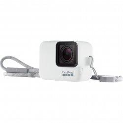 Sistem prindere si transport GoPro Sleeve + Lanyard pentru Hero5/6/7, Alb