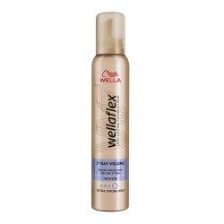 Spuma de par Wella Wellaflex 2Day Volume pentru fixare puternica, 200 ml