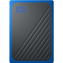 SSD Extern WD My Passport GO 1TB, USB 3.0, Negru/Albastru