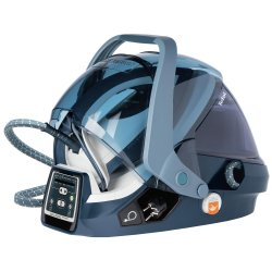 Statie de calcat Tefal GV9080E0 Pro Express X-Pert Care, 2400W, 500g/min, 120g/min, Talpa Autoclean Durilium, 7.5 bari, 5 setari, Protect System, 1.6l, Alb/Albastru
