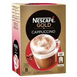 Cafea cappuccino NESCAFE Gold Cappuccino, 8x14g image