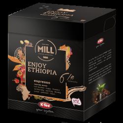 Capsule cafea Mr&Mrs Mill compatibile Beanz Cafe Enjoy Ethiopia, 12 buc, 93 gr image