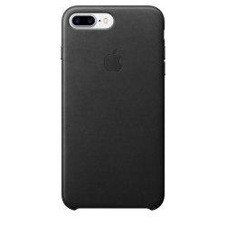 Husa de protectie Apple pentru iPhone 8 Plus / iPhone 7 Plus, Piele, Black image