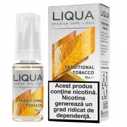 Lichid pentru Tigara Electronica Liqua Elements, 10ml, Traditional Tobacco, 12 mg/ml. image