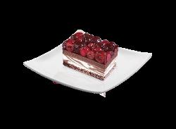 Choco Cherry Cake image