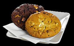 Triple Chocolate Cookie image