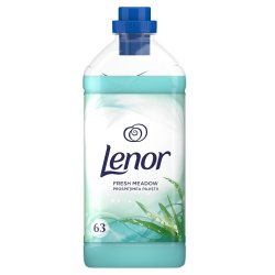 Balsam de rufe Lenor Fresh Meadow, 63 spalari, 1.9L