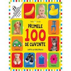 Bebe invata. Primele 100 de cuvinte. Carte cu ferestruici image