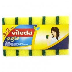 Burete vase Vileda Style Tip Top, 3+2 Gratis
