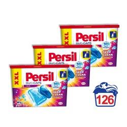 Detergent capsule Persil Duo-Caps color, 126 spalari, 3x42 capsule