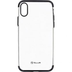 Husa de protectie Tellur Silicon Electroplated pentru Apple iPhone X, iPhone Xs, Negru image