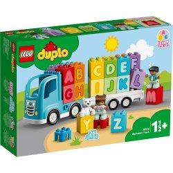 LEGO DUPLO - Primul meu camion cu litere 10915
