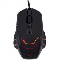 Mouse gaming A+ G6- Helis, 3500 DPI, Negru