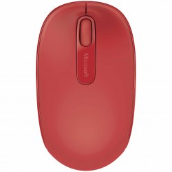 Mouse Microsoft Mobile 1850, Wireless, Rosu