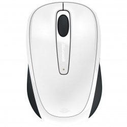 Mouse Microsoft Mobile 3500, Wireless, Alb Glossy image