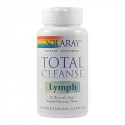 Supliment alimentar Total Cleanse Lymph Solaray, 60 capsule Secom