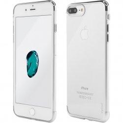 Husa de protectie Vetter Clip-On Shiny Soft Series pentru iPhone 8 Plus / iPhone 7 Plus, Silver image