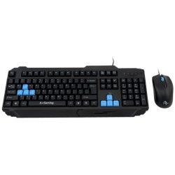 Kit tastatura + Mouse A+ K1 Kandaon, Negru